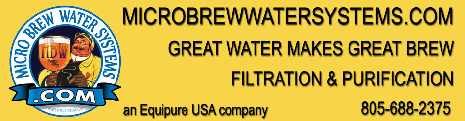 Micro Brew water Systems header Logo