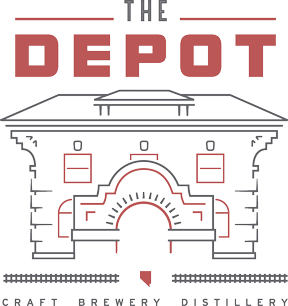 Logo of  the Depot craft brewery